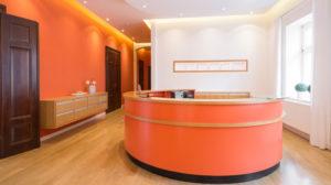 Zahnarztpraxis Roger Barz Zahngesundheit Halle Foyer Praxis