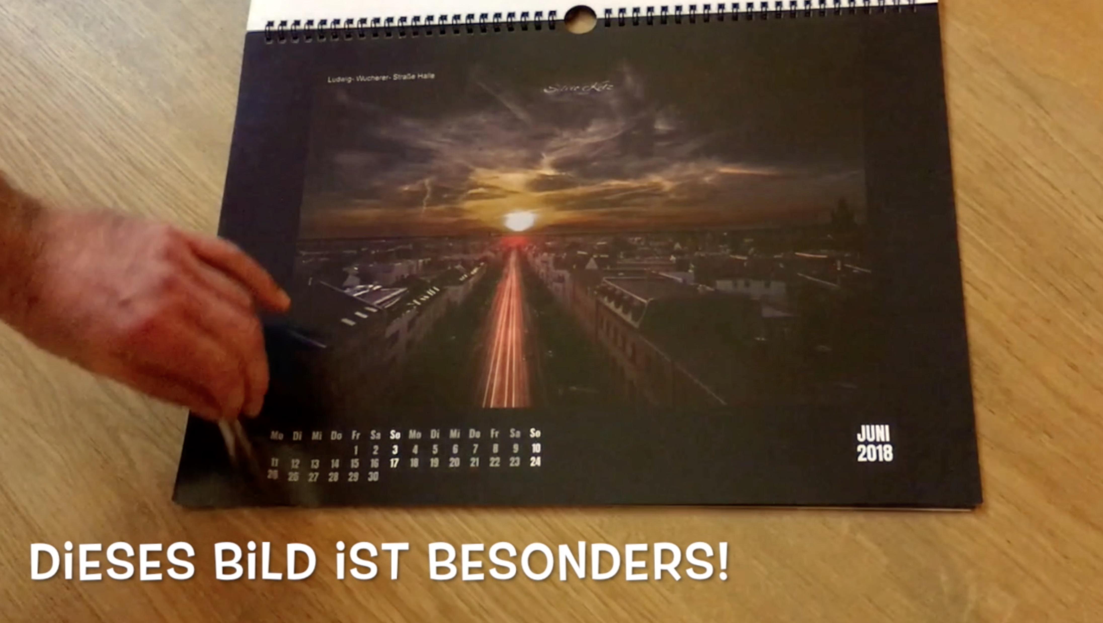 Jahreskalender SK Media Halle Zahngesundheit Halle Zahnarzt Roger Barz