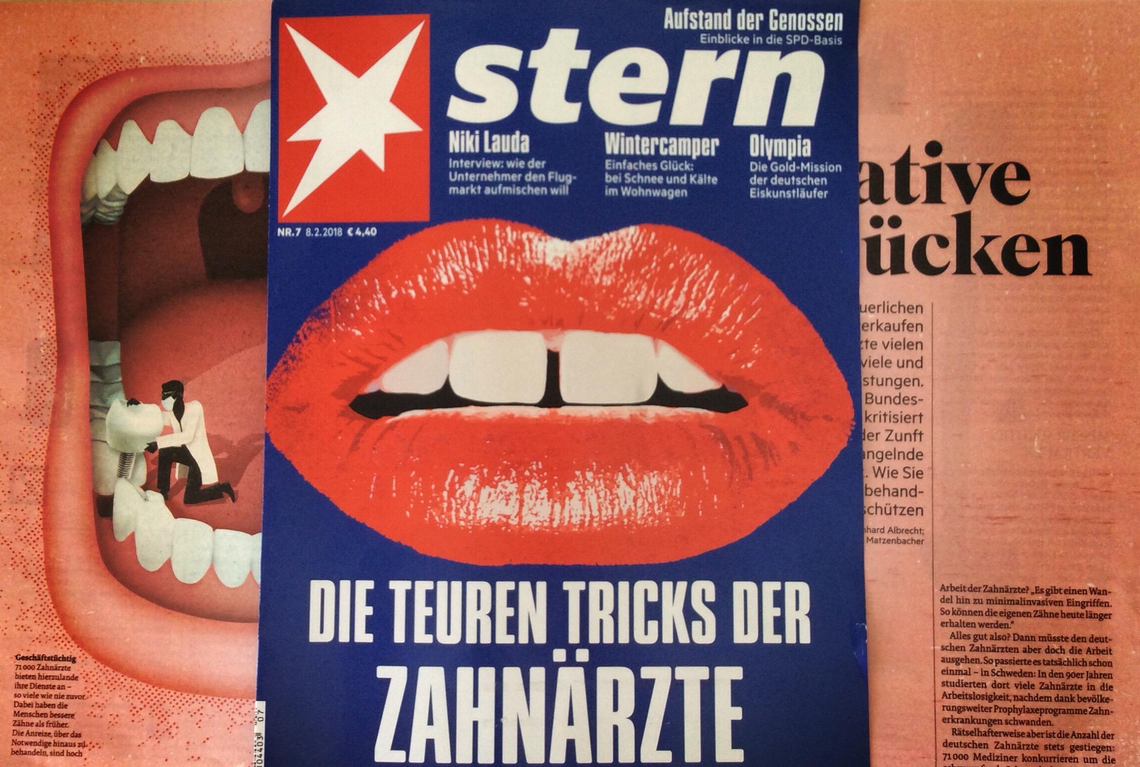 Zahngesundheit Halle Stern