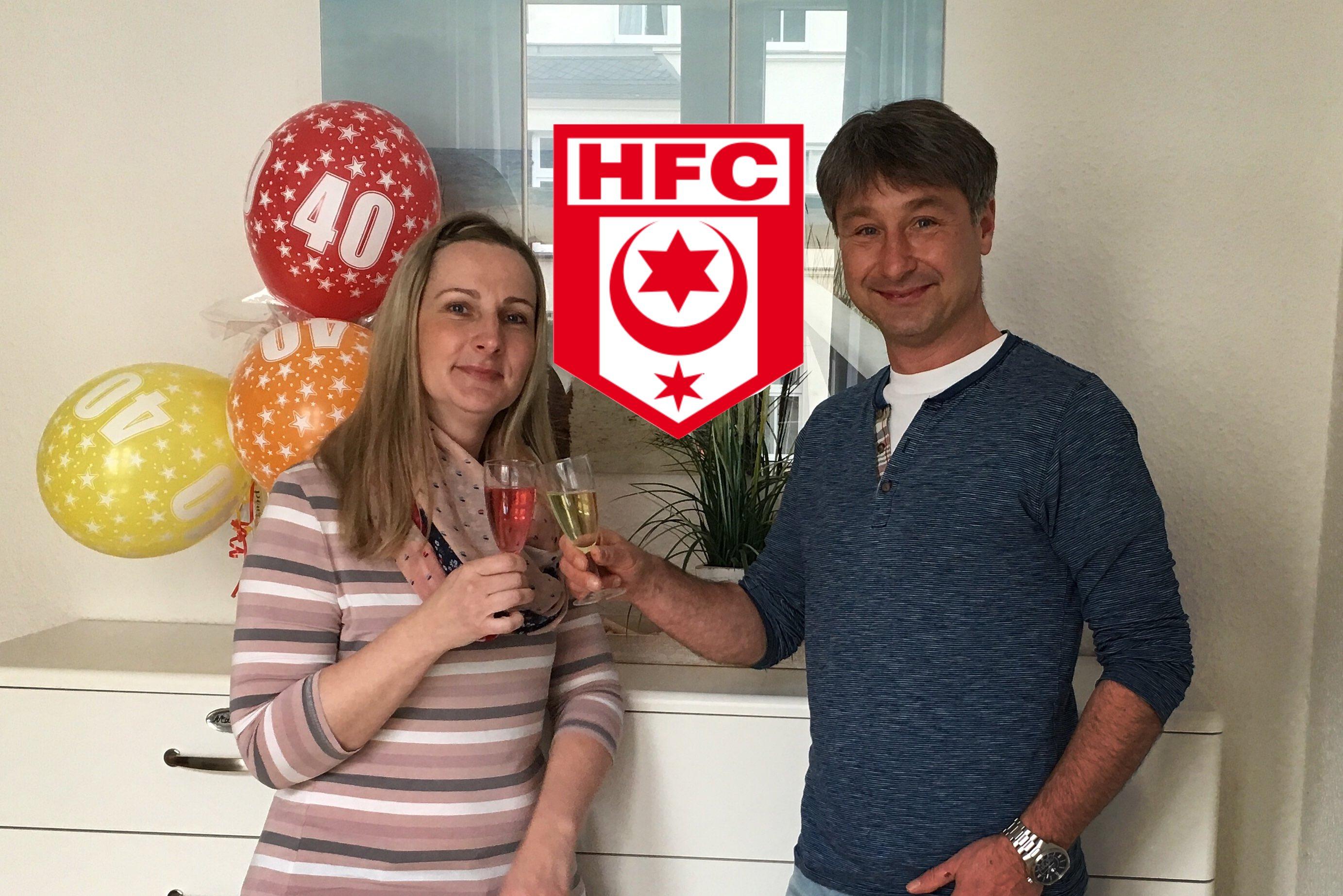 Fan HFC Schwester Cindy Zahnarztpraxis Roger Barz