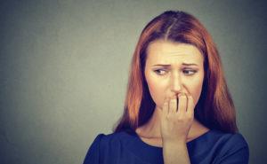 Frau Zahnarzt Angstpatient Zahngesundheit Halle