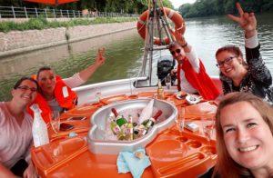 Bootsfahrt Saalekringel Zahngesundheit Halle