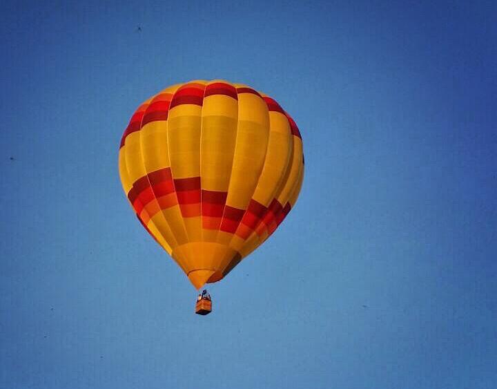 Wir Verlosen Eine Ballonfahrt