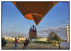 Heißluftballon startet Video Tag der Zahngesundheit Halle Roger Barz