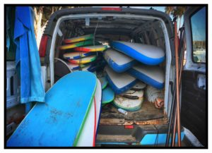 Surfbretter Roger Barz Venice Beach