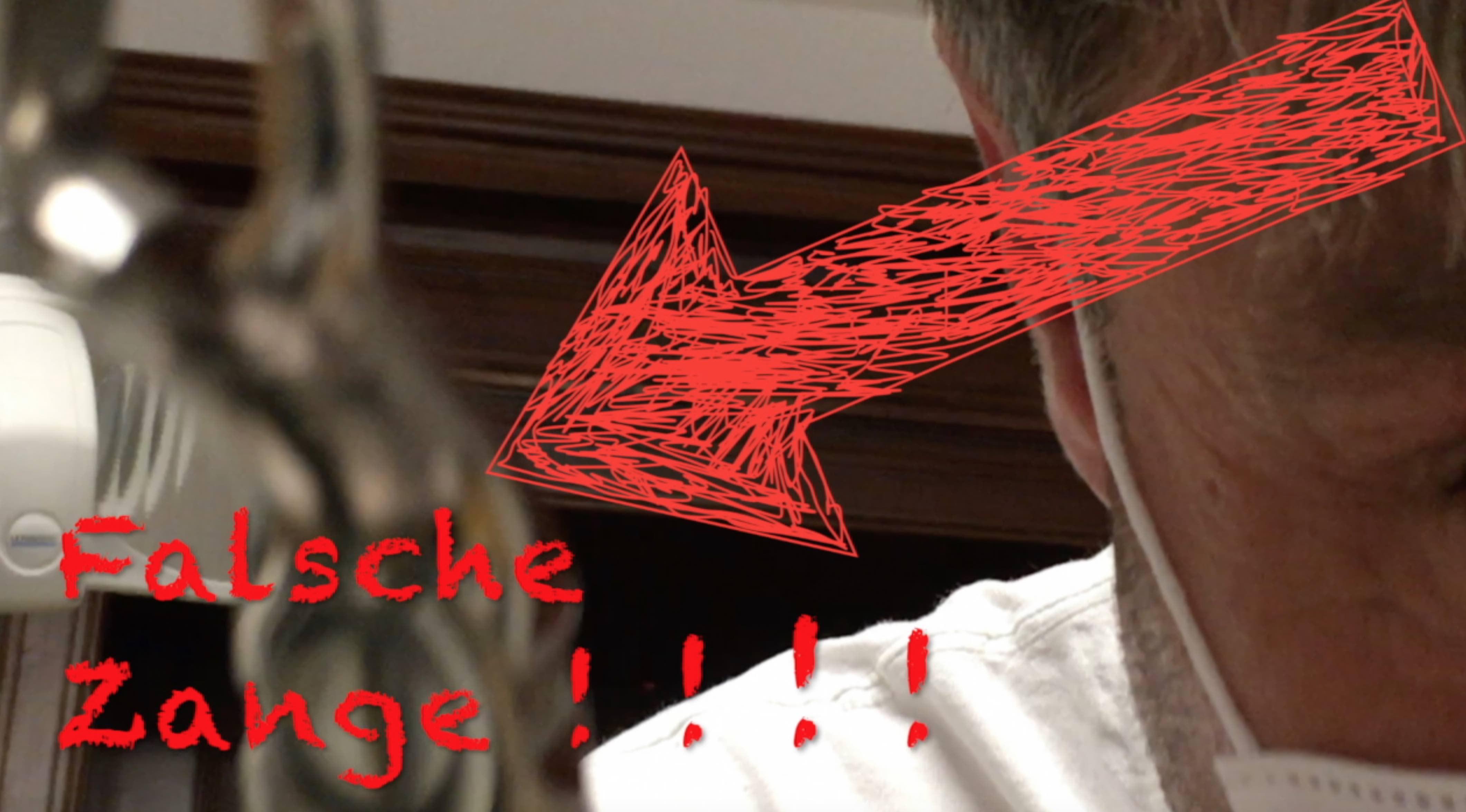 Falsche Zange Im Film Zahngesundheit Halle