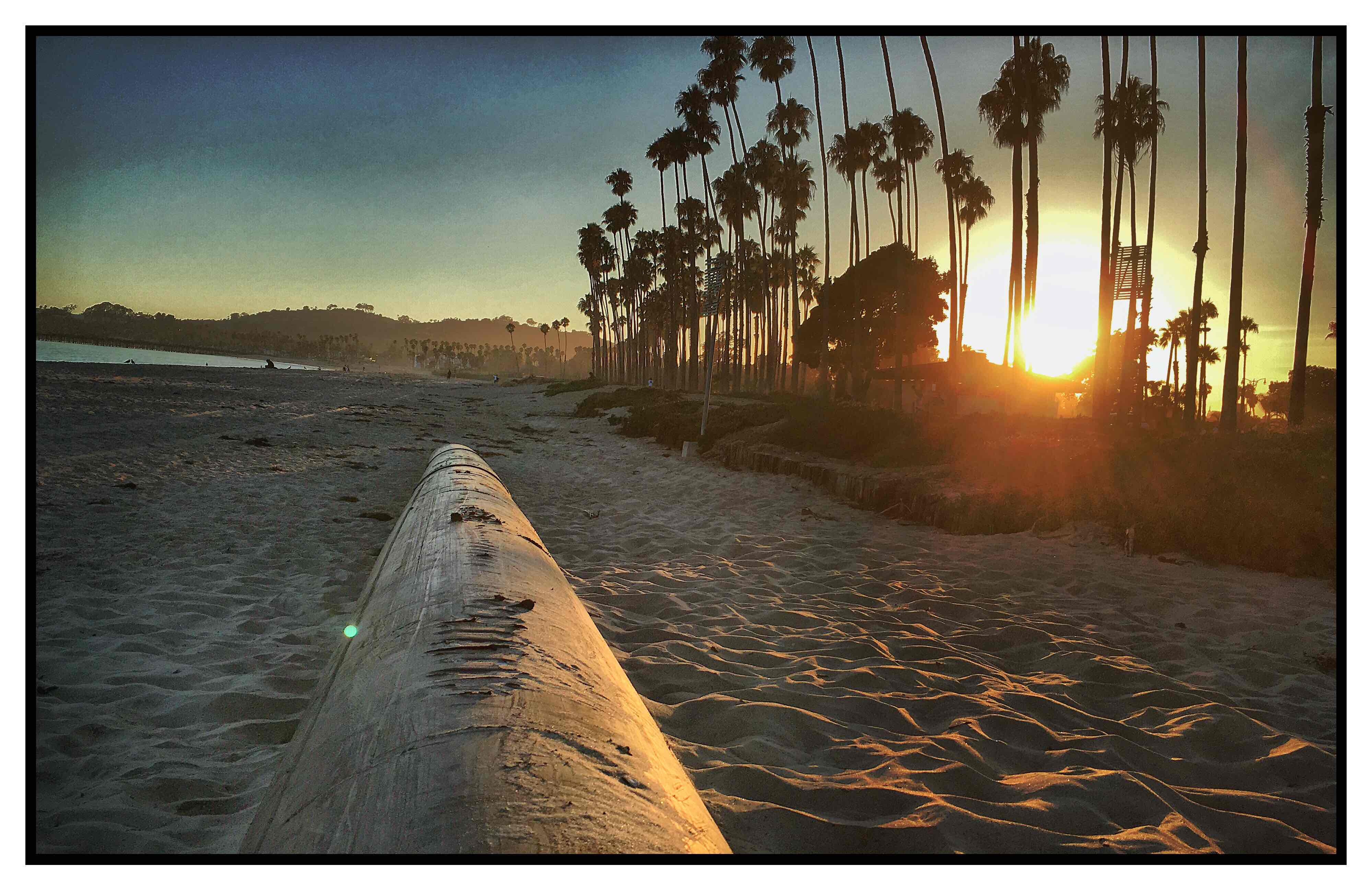 Strandimpressionen Santa Barbara Roger Barz