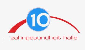 Motiv komplett 10 Jahre Zahn Gesundheit Halle
