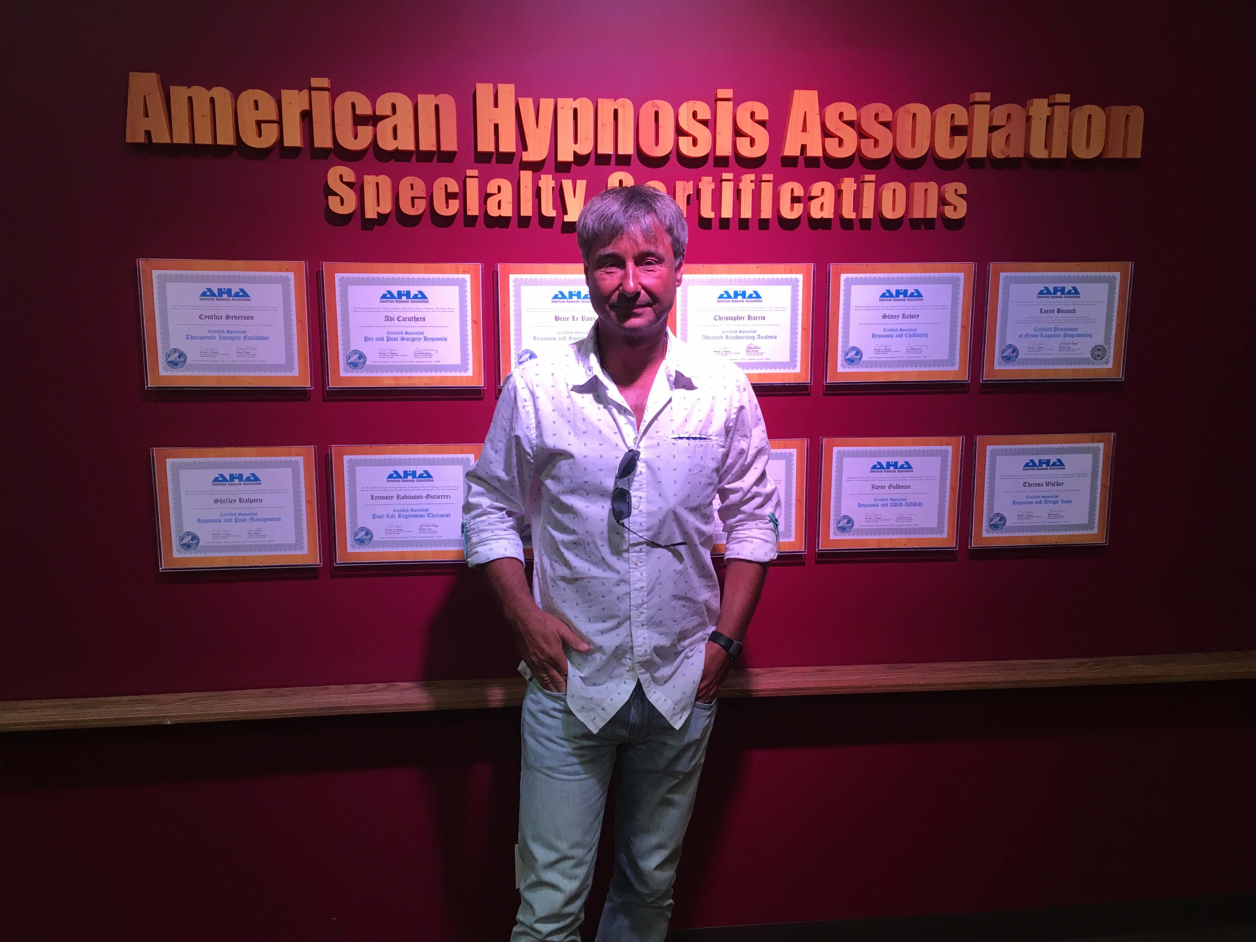 Roger Barz Experte Hypnose Institut Los Angeles