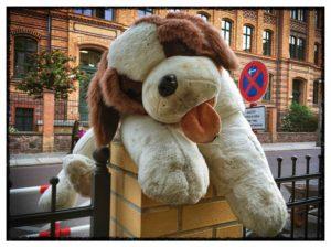 Roger-Barz-Halle-Stoffhund