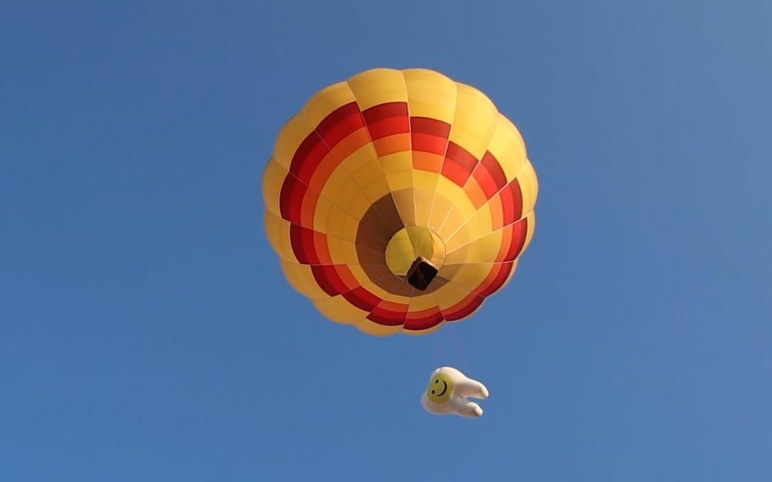 Zahngesundheit-Halle-Ballon