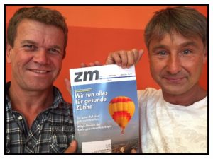 Zahnarzt Roger Barz und Silvio Kelz Zahnärztliche Mitteilungen