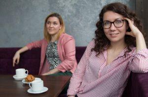 Girl im Kaffee Zahnarzt Roger Barz Halle