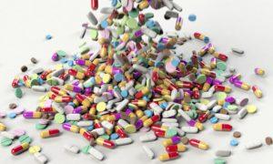 Medizin Tabletten Zahngesundheit Halle