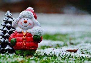 Weihnachtsmann Figur Zahnarztpraxis Roger Barz