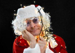 Weihnachtsmann verträumt Zahnarztpraxis Roger Barz