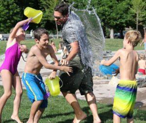 Wasserschlacht Kids Zahnarztpraxis Roger Barz Halle