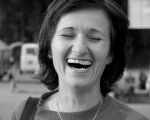 herzliches Lachen Zahnarztpraxis Roger Barz Halle Saale