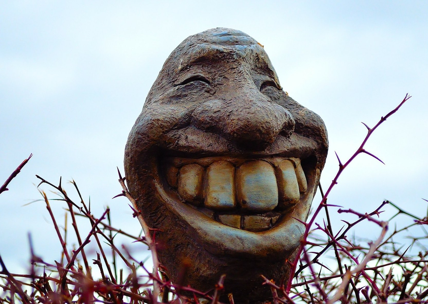 Figur Mit Zähne Zahnarztpraxis Roger Barz Halle