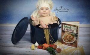 Baby Koch Herzensbilder