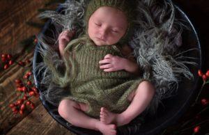 Baby schlafend Herzensbilder