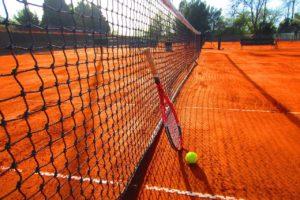 Tennisplatz Zahngesundheit Halle