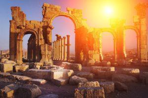 Säulen Griechenland Zahnarzt Roger Barz Halle