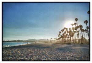 Strand mit Palmen Zahnarzt Roger Barz Halle