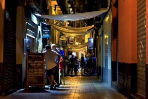 Spanien bei Nacht Zahnarzt Roger Barz Halle