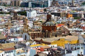 Blich über Sevilla Zahnarzt Roger Barz Halle
