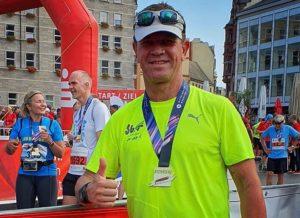 Silvio Kelz Marathon 2019 Zahnarzt Roger Barz