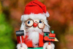 Weihnachtsmann Puppe Zahnarzt Roger Barz