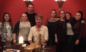 Osteria Weihnachtsfeier Zahnarzt Roger Barz Halle