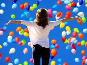 Mädchen Ballons Zahnarzt Roger Barz Halle
