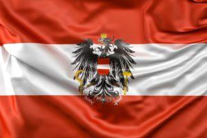 Fahne Österreich  Zahnarzt Roger Barz Halle