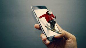 Ski Smartphone Zahnarzt Roger Barz Halle