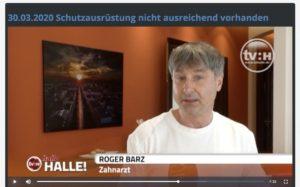 TV Halle Mitschnitt Zahnarzt Roger Barz Halle